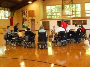 Boston Self Help Center supports the Boston Brakers Power Wheelchair Soccer Team
